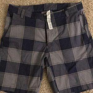 Lululemon plaid shorts